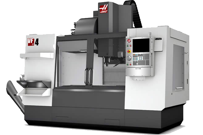 Picture of HAAS VF-4 CNC Machine